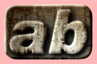 Embossed Concrete Text Effect 029