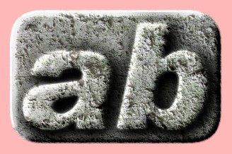 Embossed Concrete Text Effect 033