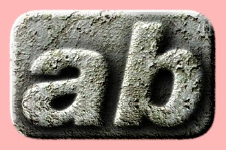 Embossed Concrete Text Effect 034