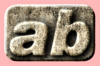 Embossed Concrete Text Effect 037