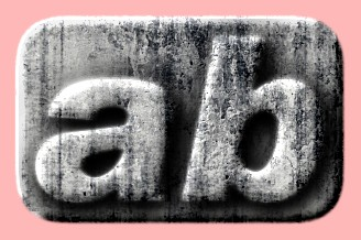 Embossed Concrete Text Effect 039