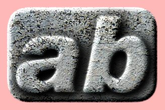 Embossed Concrete Text Effect 040