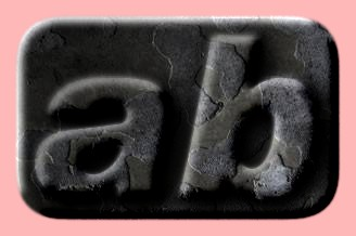 Embossed Concrete Text Effect 049
