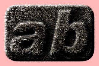 Embossed Fur Text Effect 002