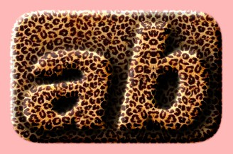 Embossed Fur Text Effect 004