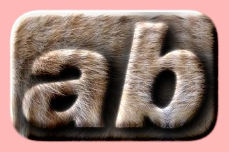 Embossed Fur Text Effect 011