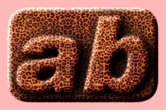 Embossed Fur Text Effect 016