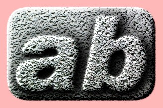Embossed Glass Text Effect 009