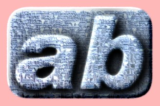 Embossed Glass Text Effect 014