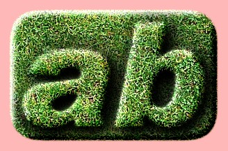 Grass Embossed Text Effect Generated Online