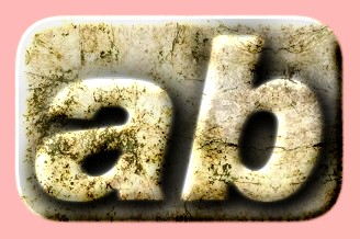 Embossed Grunge Text Effect 015