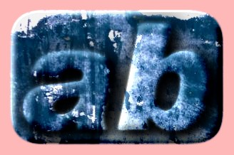 Embossed Grunge Text Effect 046