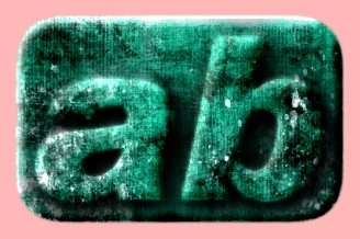 Embossed Grunge Text Effect 058