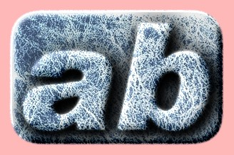 Embossed Ice Text Effect 002