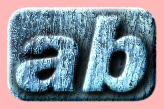 Embossed Ice Text Effect 005