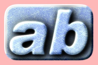 Embossed Ice Text Effect 006