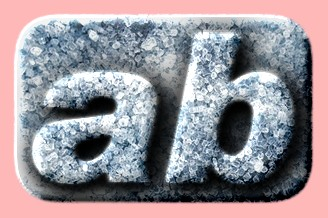 Embossed Ice Text Effect 007