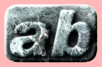 Embossed Ice Text Effect 012