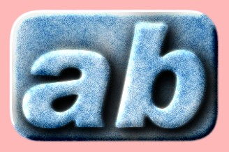 Embossed Ice Text Effect 016