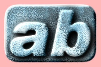 Embossed Ice Text Effect 020