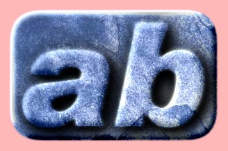 Embossed Ice Text Effect 021