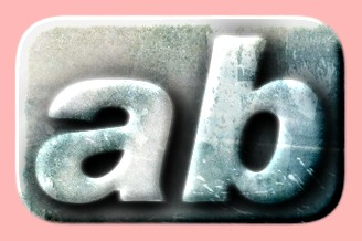 Embossed Ice Text Effect 022