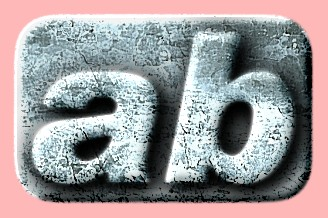 Embossed Ice Text Effect 025