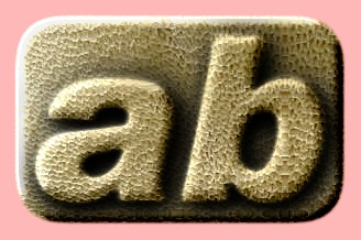 Embossed Leather Text Effect 009