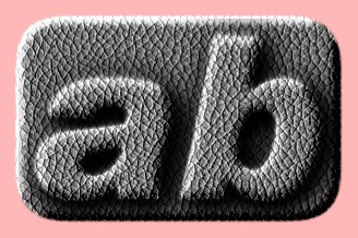 Embossed Leather Text Effect 012