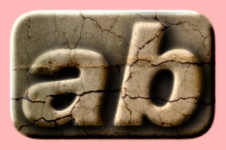 Embossed Marble Text Effect 001