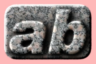 Embossed Marble Text Effect 014