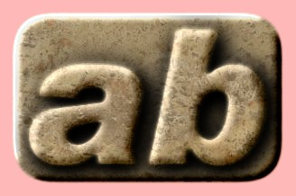 Embossed Marble Text Effect 020
