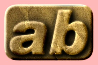 Embossed Paper Text Effect 012