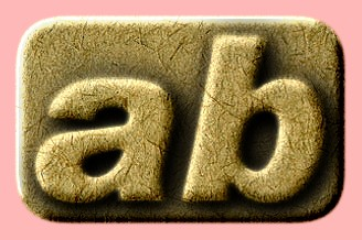Embossed Paper Text Effect 017