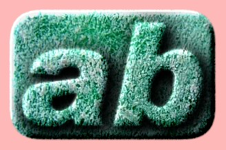 Embossed Plastic Text Effect 004