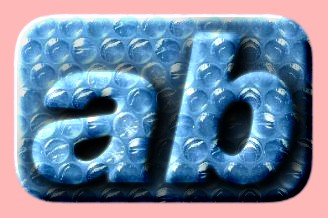 Embossed Plastic Text Effect 011