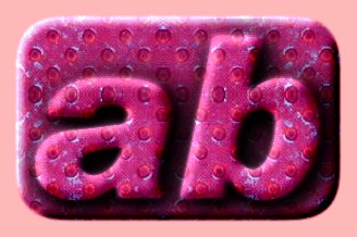 Embossed Plastic Text Effect 018