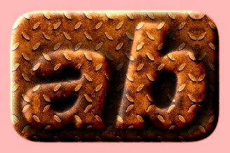 Embossed Rust Text Effect 007