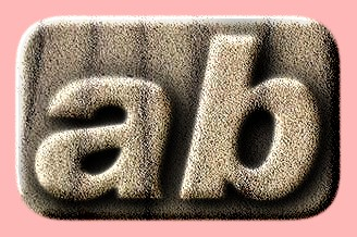 Embossed Sand Text Effect 009
