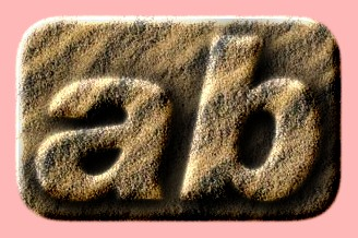 Embossed Sand Text Effect 011