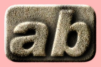 Embossed Sand Text Effect 013
