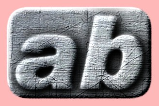 Embossed Steel Text Effect 012
