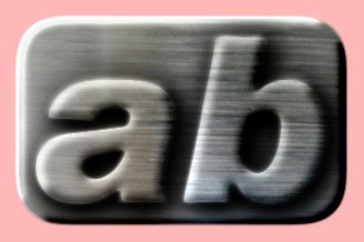 Embossed Steel Text Effect 016