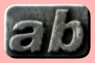Embossed Steel Text Effect 020