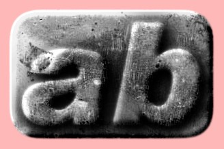 Embossed Steel Text Effect 022