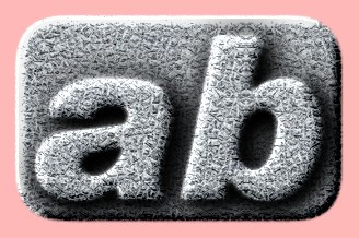 Embossed Stone Text Effect 003