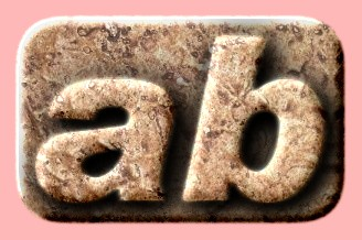 Embossed Stone Text Effect 007