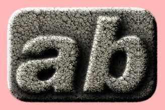 Embossed Stone Text Effect 010