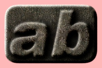 Embossed Stone Text Effect 016