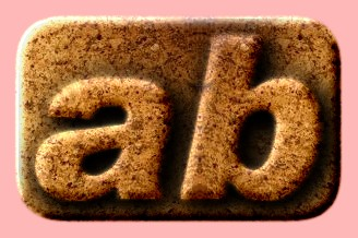 Embossed Stone Text Effect 018